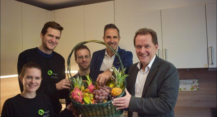Duisburg Kontor und h2m unterstützen Livingroom-Duisburg mit Preisgeld des NRW-Hörfunkpreises
