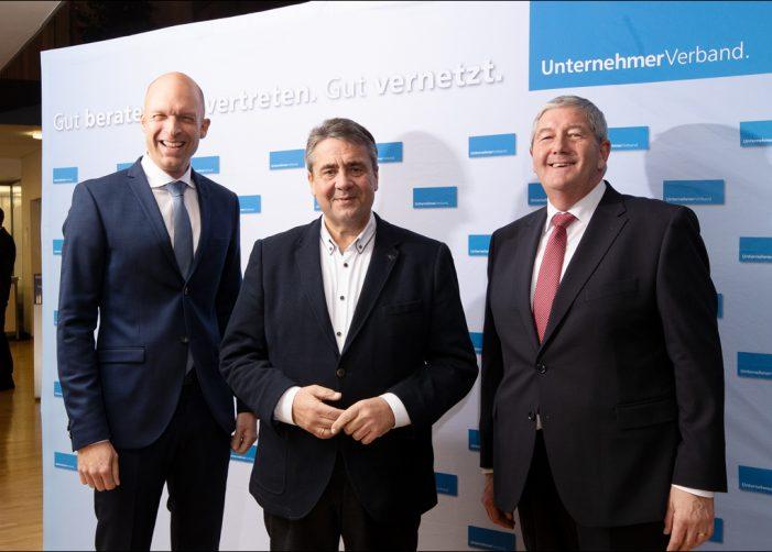 Unternehmerverband Duisburg: Unternehmertag mit Sigmar Gabriel