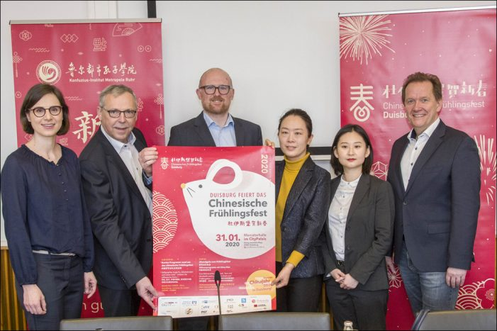 ABGESAGT: Duisburg feiert das Chinesische Frühlingsfest: Auftakt des Chinajahres 2020