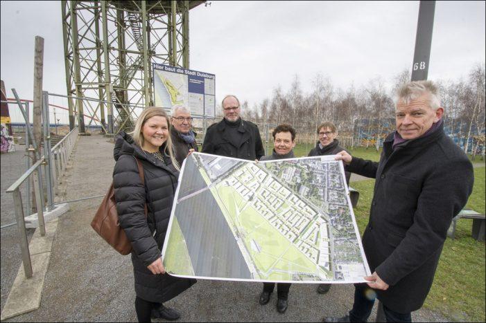 RheinPark in Duisburg-Hochfeld: Freigabe der Panoramatrasse