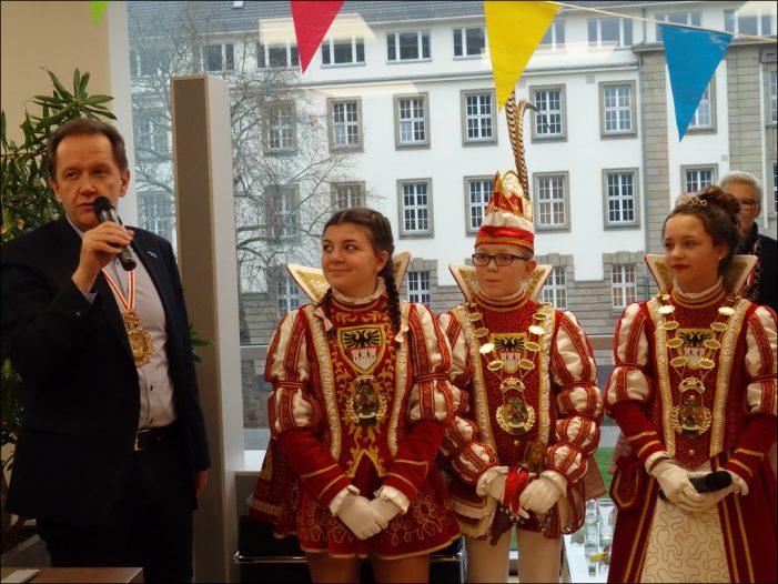 Traditioneller Prinzenempfang bei Duisburg Kontor im CityPalais