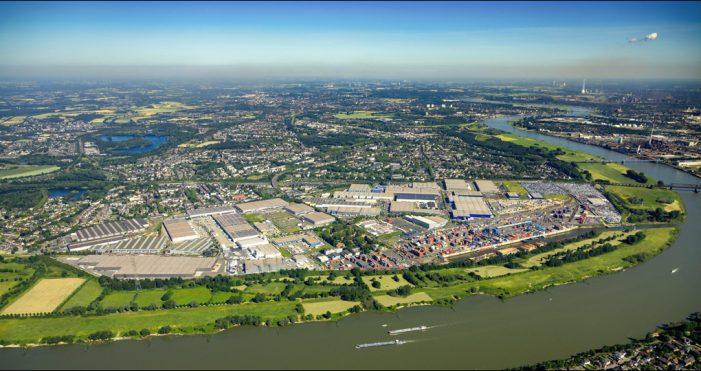 Duisburger Hafen: Stabiler Containerumschlag, rückläufiger Güterumschlag in 2019