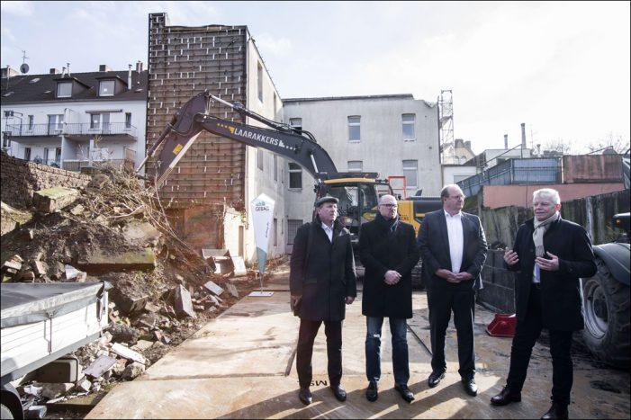 Modellprojekt Abriss Problemimmobilien in Duisburg-Marxloh