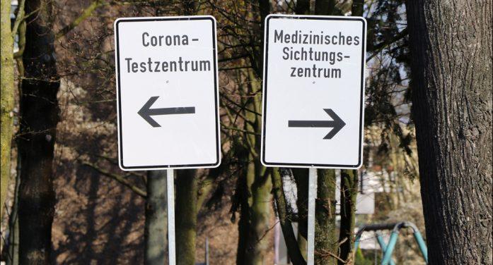 Umzug des zentralen Sichtungs- und Probezentrum zur Glückauf-Halle in Duisburg-Homberg