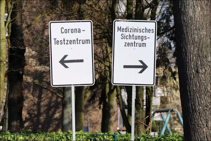 Coronavirus: Drei Sichtungszentren sichten Kranke, die nicht mit Covid-19 Infiziert sind