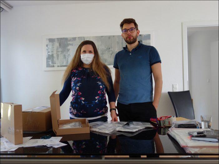 Coronavirus zwang zu neuem Betätigungsfeld: Atemmasken statt Tanz- und Businesskleidung