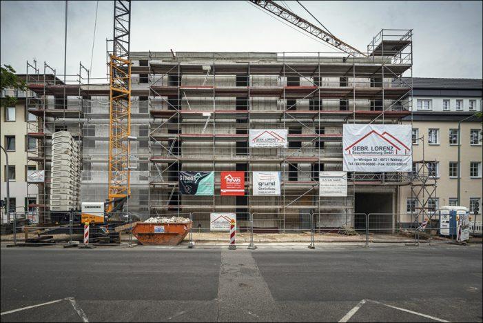 Gebag-Neubau in Neudorf schreitet voran