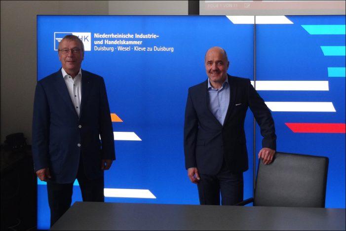 Niederrheinische IHK: Konjunkturumfrage Frühsommer 2020