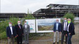 Alter Güterbahnhof in Duisburg: Startschuss für den Abriss