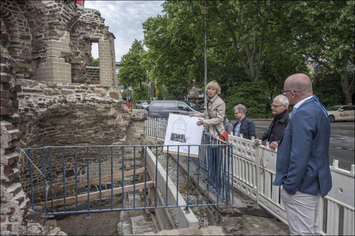 Restaurierungsarbeiten am Turm der Stadtmauer sind abgeschlossen
