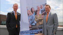 Volksbank Rhein-Ruhr stellte in Duisburg Bilanz und Zukunftspläne vor