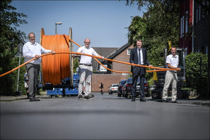 Duisburg CityCom (DCC) schließt alle 2350 Gebag-Immobilien ans Glasfasernetz an