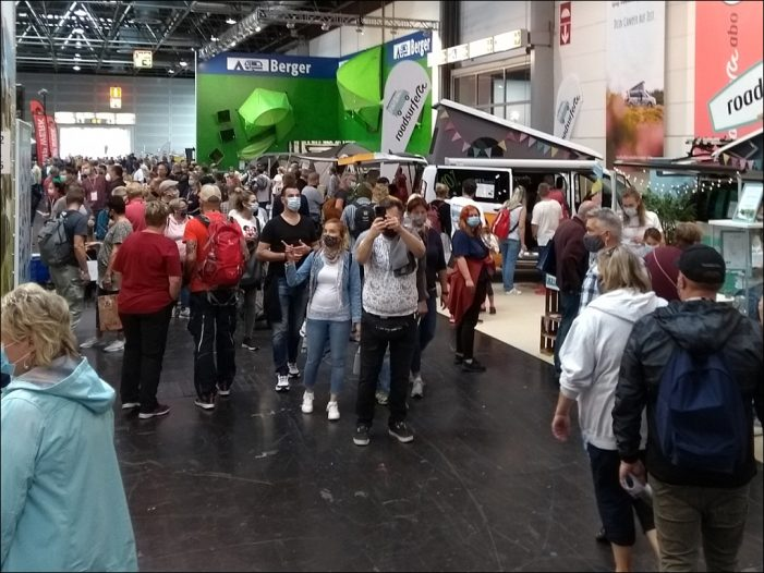 Caravan-Salon in Düsseldorf: Gelungener Messe-ReStart