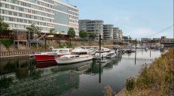 Marina im Duisburger Innenhafen für knapp 1,9 Euro Millionen Euro umfassend saniert