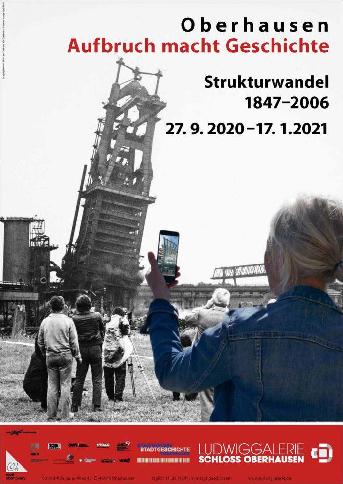 Ludwiggalerie Schloss Oberhausen: Fotoausstellung zum Strukturwandel 1847–2006