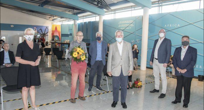 Verleihung der Mercator-Ehrennadel  in Duisburg