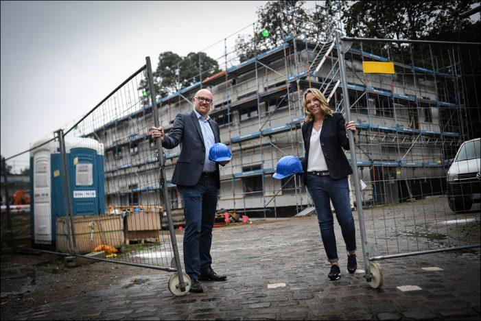 Zoo Duisburg: Der Rohbau des neuen Wirtschaftshofes ist fertig