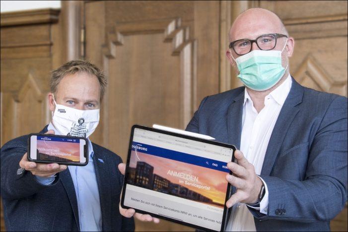 Stadt Duisburg baut ihr digitales Dienstleistungsangebot aus