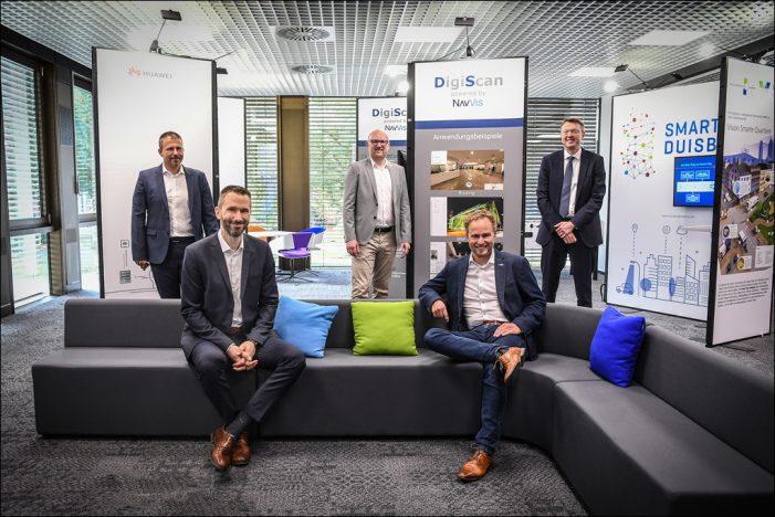 Innovation Center ist nächster Meilenstein auf dem Weg zur Smart City Duisburg