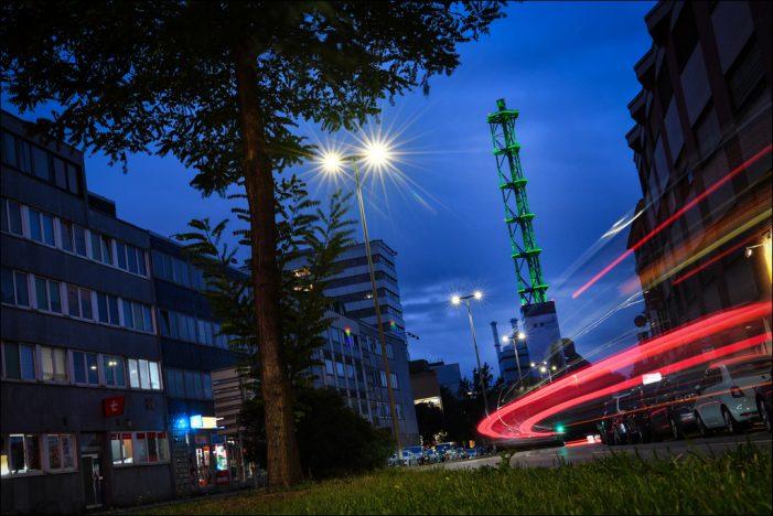 Duisburger Stadtwerketurm mit Deutschem Lichtdesign-Preis 2020 ausgezeichnet