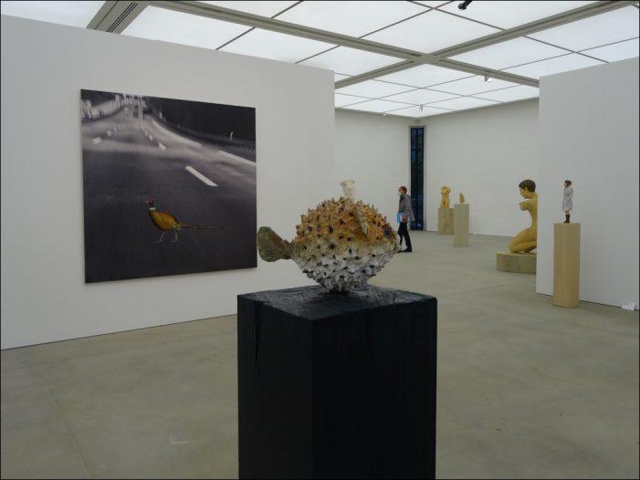 Stephan Balkenhol im Lehmbruck Museum in Duisburg