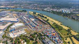Duisburger Hafen schließt 2020 erfolgreich ab