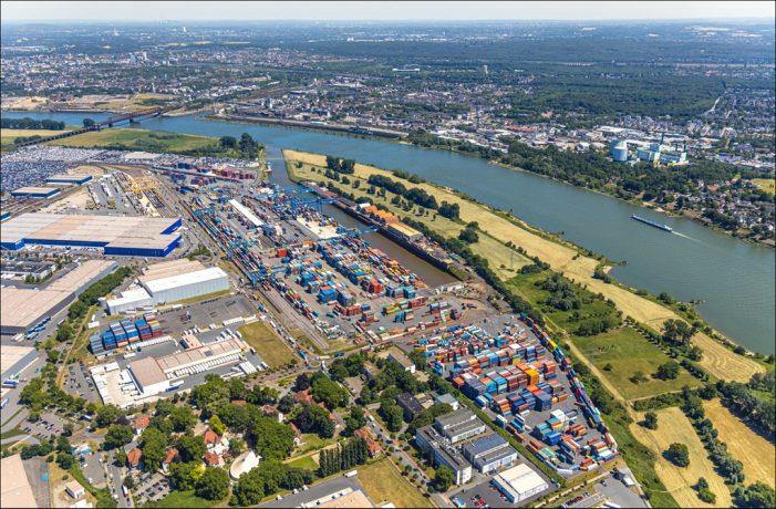 duisport wächst in der Krise: Containerumschlag steigt über Vorjahresniveau