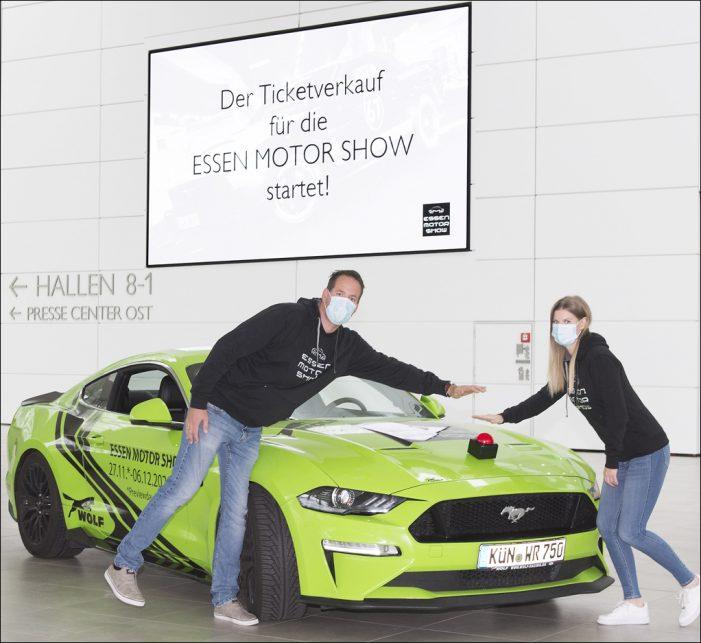Essen Motor Show 2020: Ticketverkauf für die Limited Edition startet … ABGESAGT!