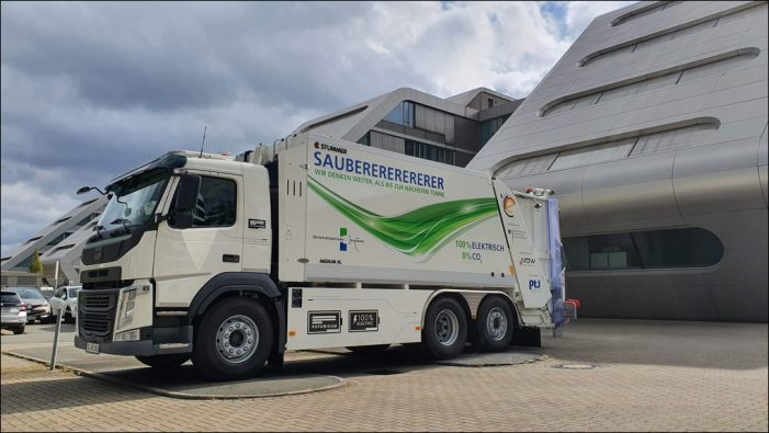 Wirtschaftsbetriebe: Elektrisches Abfallsammelfahrzeug für Duisburg
