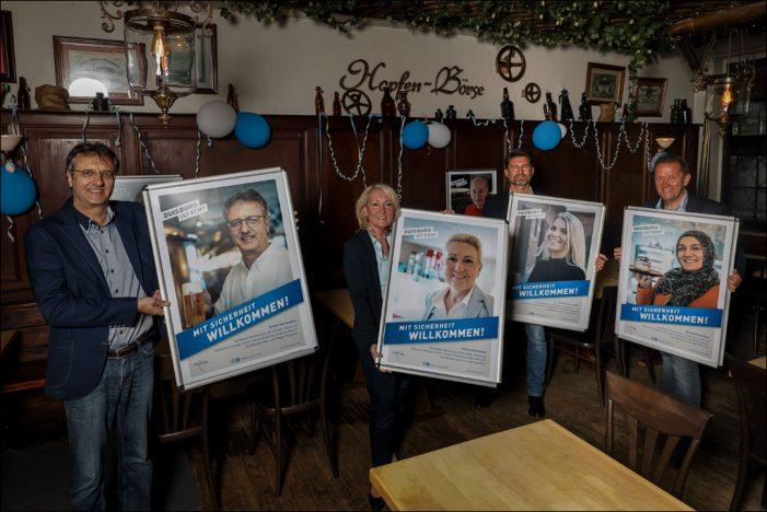 """In Duisburg sind Gäste """"Mit Sicherheit willkommen!"""""""
