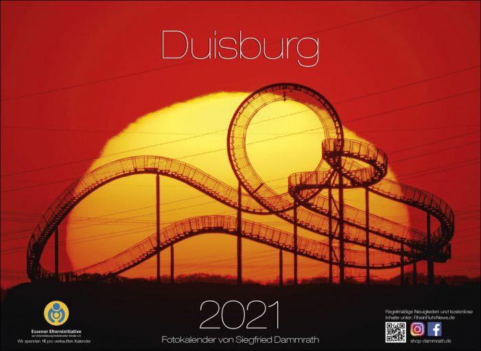Siegfried Dammrath bringt die einundzwanzigste Edition des Duisburg-Fotokalenders heraus