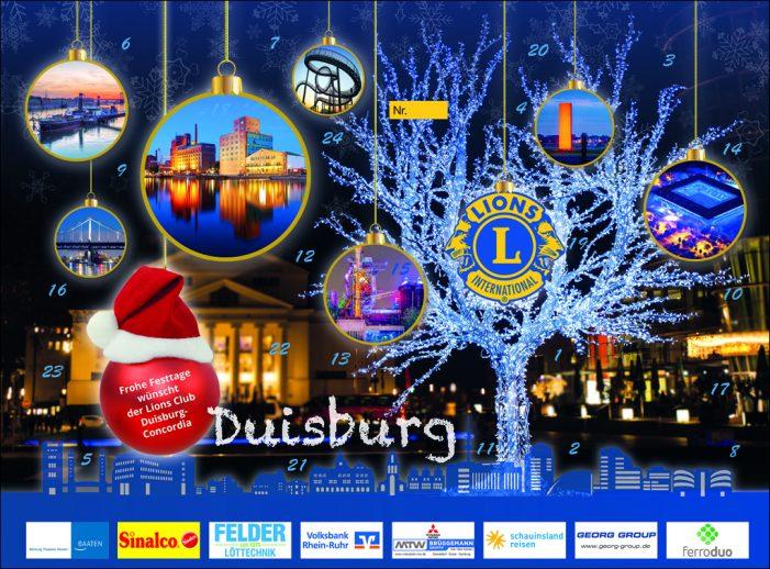 Trostspender und Glücklichmacher: Sport-Adventskalender des Lions Clubs Duisburg-Concordia
