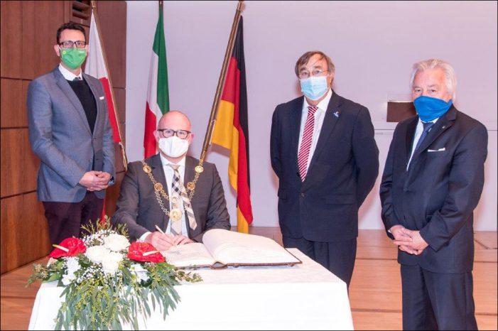 Konstituierende Sitzung des Duisburger Stadtrats in der Mercatorhalle
