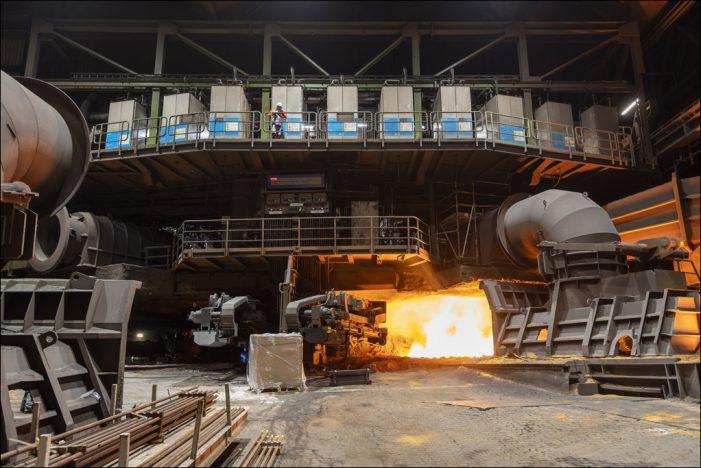 Effizienzsteigerung: thyssenkrupp nimmt innovative SIP-Hochofentechnologie in Duisburg in Betrieb