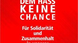DGB Duisburg-Niederrhein ruft auf zu Mitmach-Aktionen: Gemeinsam Demokratie stärken!