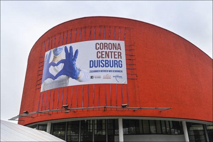 Impfzentrum der Stadt Duisburg ist einsatzbereit