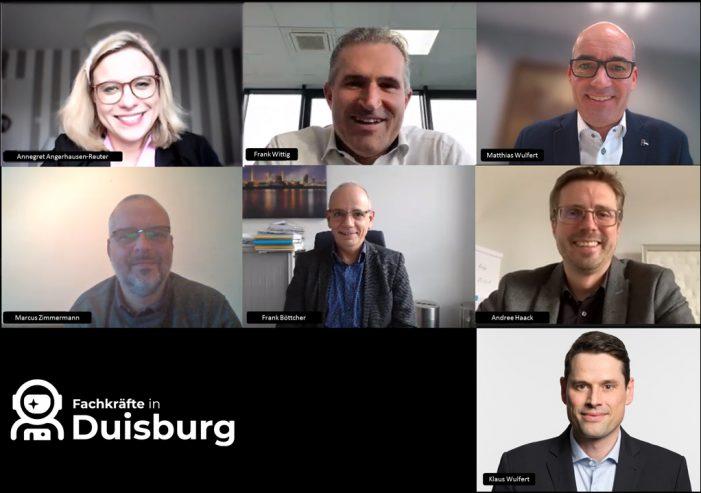 Mitarbeiter finden und binden: Der Duisburger Fachkräftenavigator macht´s möglich