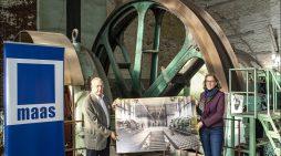 Maas-Gruppe übernimmt Maschinenhaus der ehemaligen Zeche Pattberg in Moers: Industriedenkmal wird Bürostandort