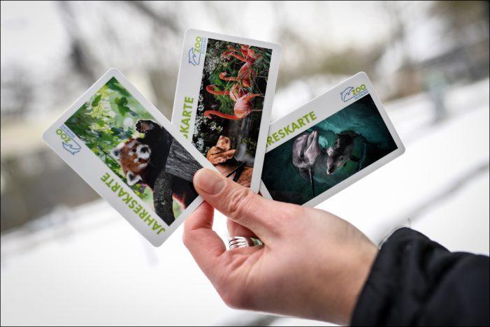 Zoo Duisburg präsentiert umweltfreundliche Jahreskarte im Scheckkartenformat