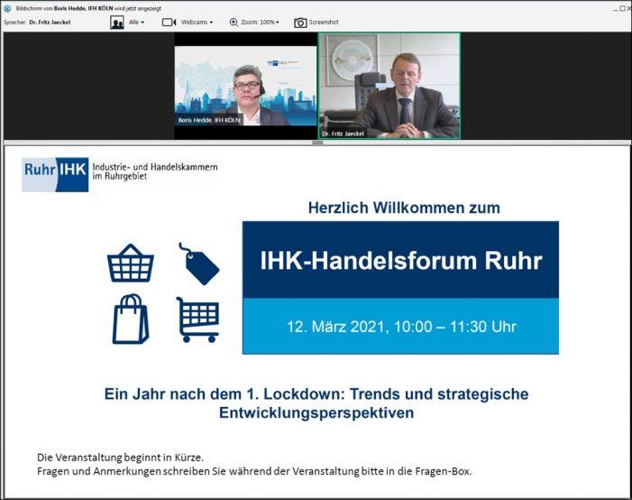 IHK-Handelsforum Ruhr: Innenstädte unter Druck