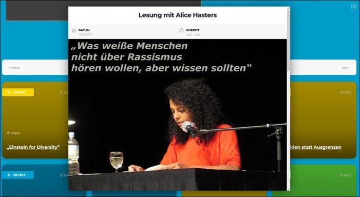 """""""Internationale Wochen gegen Rassismus"""" in Duisburg vom 15. bis 28. März"""
