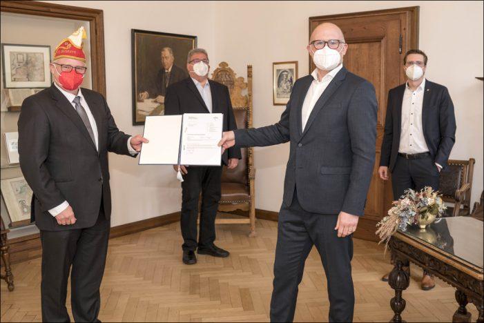 KG Südstern Serm e. V. Baugenehmigung für eine Wagenbauhalle in Duisburg