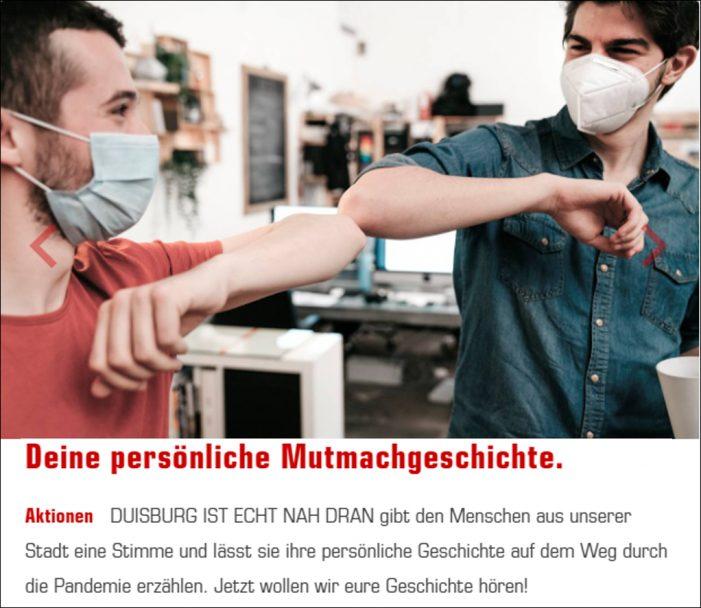 "Radiokampagne ""Duisburg ist echt nah dran"" soll neuen Mut machen"