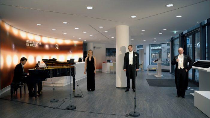 Opernshop-Konzerte im Stream: Neue digitale Konzertreihe der Deutschen Oper am Rhein