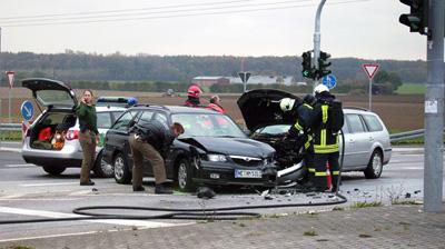 Verkehrsbericht 2020: Deutlicher Rückgang der Unfälle in Duisburg