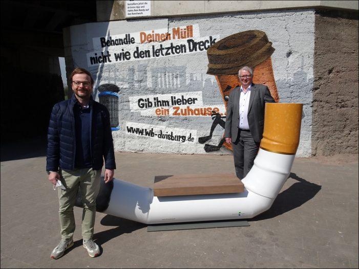 Wirtschaftsbetriebe: Start der neuen Sauberkeits-Kampagne in Duisburg