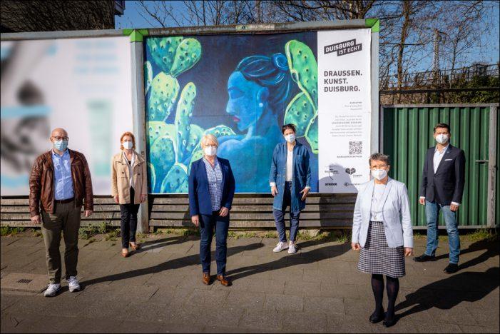 Duisburger Kunst kommt raus auf die Straßengalerie