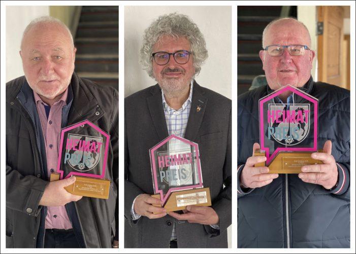 NRW Heimat-Preis 2020 für drei Duisburger Vereine