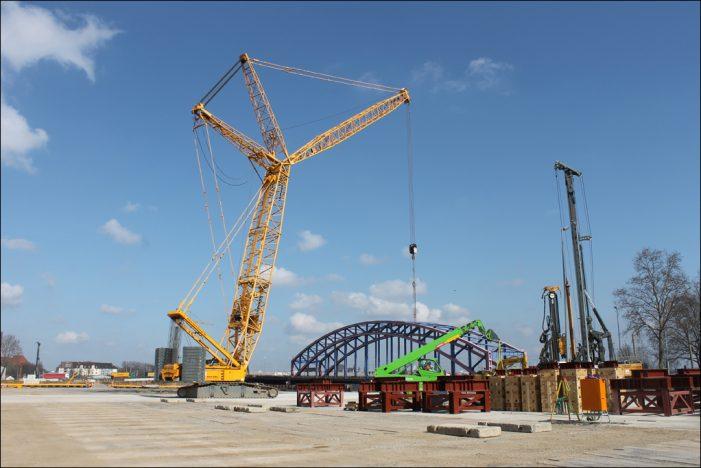 Karl-Lehr-Brückenzug: Duisburgs größte kommunale Baumaßnahme ist im Zeitplan