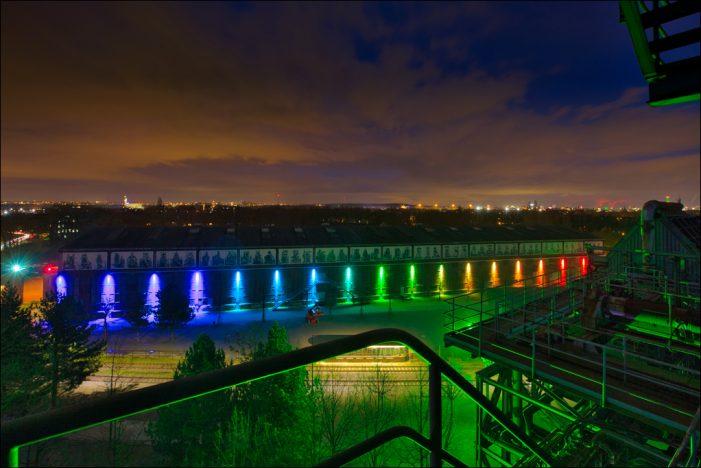 Landschaftspark Duisburg-Nord: Frühling kommt mit Licht und Farbe